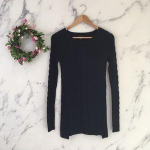 Nautica Cable Knit Tunic Sweater